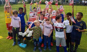 1. FC Köln Fußball-Schule zu Gast in der Emsaue