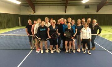 Tennis: Pokal für Lisa und Lena Scheibel