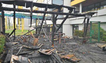 Nach Brand am Hallenbad: Emsaue nutzbar