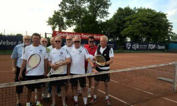 Tennis: Erste Niederlage für Herren 60