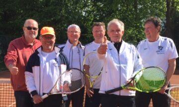 Tennis: Herren 60 festigen Platz zwei