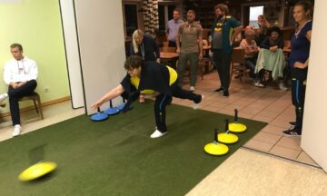 Teppich-Curling: Uschi Bräuer und Sandra Weddeling auf Platz vier