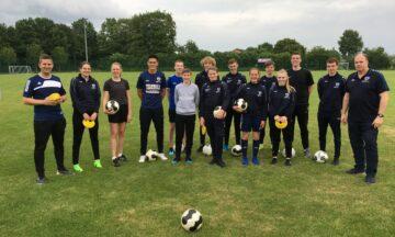 Juniortrainer startklar für neue Fußball-Saison