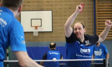 Tischtennis: Unter Zugzwang