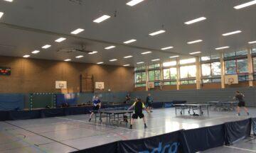 Tischtennis: Rückkehr in die Emssporthalle