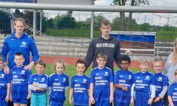 Fußball: Ergo General stattet DJK-Minis aus