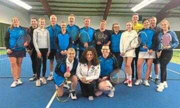 Tennis: Doppel-Mixed-Turnier