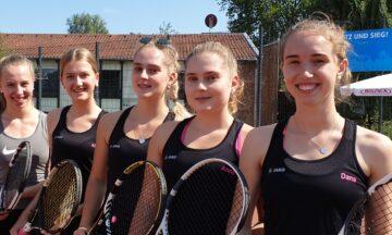 Tennis: U18 gewinnt Sommerrunde