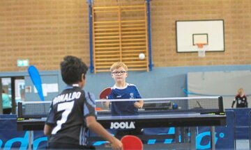 Tischtennis: Drei frisch gebackene Mini-Meister