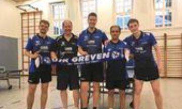 Tischtennis: Neuzugang im Verbandsligateam