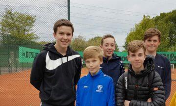 Tennis: Grandioser Start für U15