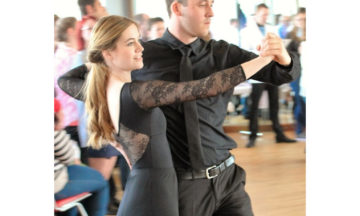 Tanzen: Marian Madeia und Kristin Bahn holen ihre erste Aufstiegsplatzierung