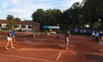 Tennis: Tennisplätze wieder spielbereit